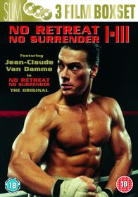 No Retreat, No Surrender 1-3 - (Import DVD)