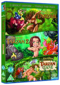 Tarzan 1-3 - (Import DVD)