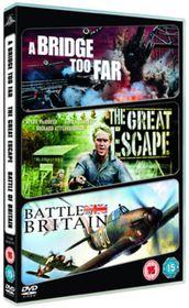 A Bridge Too Far / The Great Escape / Battle of Britain - (Import DVD)