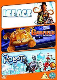 Robots / Ice Age / Garfield (DVD)