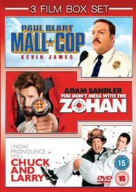 Paul Blart - Mall Cop / You Don't Mess With the Zohan /  I Now Pronounce You Chuck and Larry - (Import DVD)