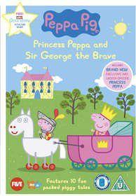 Peppa Pig: Princess Peppa And Sir George The Brave (DVD)