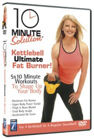 10 Minute Solution: Kettleball Ultimate Fat Burner - (Import DVD)