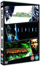 Sci-Fi Triple (Alien & Predator / Aliens / Predator) (DVD)