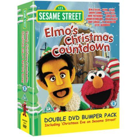 Christmas Eve On Sesame Street.Sesame Street Elmo S Christmas Countdown Christmas Eve On Sesame Street Import Dvd