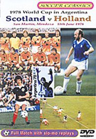 The 1978 World Cup - Scotland Vs Holland - (Import DVD)