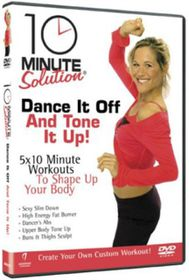 10 Minute Solution: Dance It Off and Tone It Up - (Import DVD)