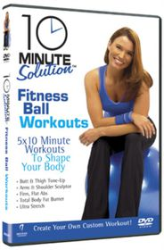 10 Minute Solution: Fitness Ball Workouts - (Import DVD)