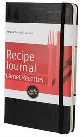 Moleskine Passions Recipe Journal/Carnet Recettes