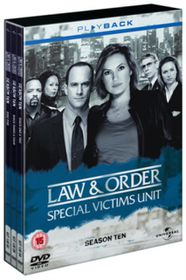 Law And Order - Special Victims Unit - Series 10 - Complete - (Import DVD)