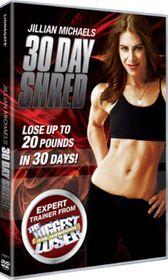 Jillian Michaels - 30 Day Shred - (Import DVD)