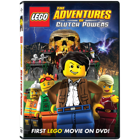 Lego Adventures Of Clutch Powers Dvd Buy Online In South Africa