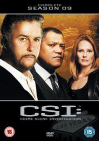 C.S.I. - Crime Scene Investigation - Vegas - Series 9 - (Import DVD)