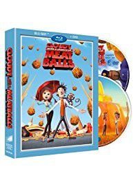Cloudy With A Chance Of Meatballs (D/C-Uk Insert) (Finite) (Blu-ray)
