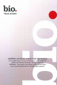 Biography:Andrew Jackson a Man for Th - (Region 1 Import DVD)