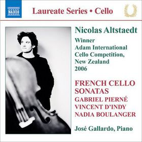 French Cello Sonatas - Various Artists (CD)