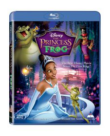 The Princess and the Frog (2009) (Blu-ray)