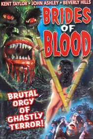 Brides of Blood - (Region 1 Import DVD)