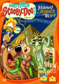 What's New Scooby-Doo? Mummy Scares Best - (DVD)