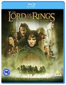 Lord Of The Rings The Fellowship Of The Ring (Blu-ray)