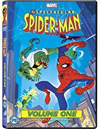 The Spectacular Spider Man Vol 1 (DVD)