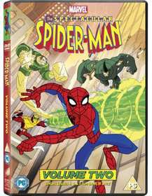 The Spectacular Spider Man Vol 2 (DVD)