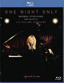One Night Only - Barbra Streisand and Quartet at the Village Vanguard September 26, 2009 - (Australian Import Blu-ray Disc)