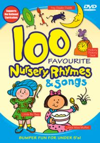 100 Favourite Nursery Rhymes  (Import DVD)