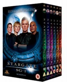 Stargate SG-1: Season 6 (Import DVD)