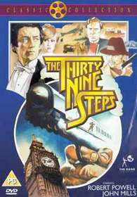The 39 Steps (Robert Powell) (DVD)