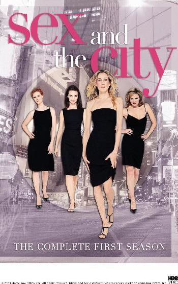 Dvd for sex the city series