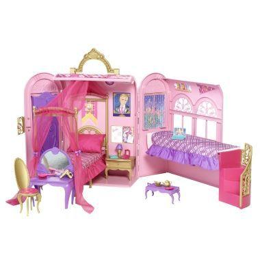 Barbie   Princess Charm School   Royal Bed   Bath Playset. Barbie   Princess Charm School   Royal Bed   Bath Playset   Buy