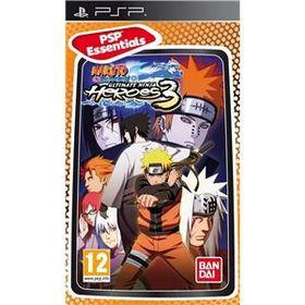 Naruto Shippuden Ultimate Ninja Heroes 3 (PSP Essential)