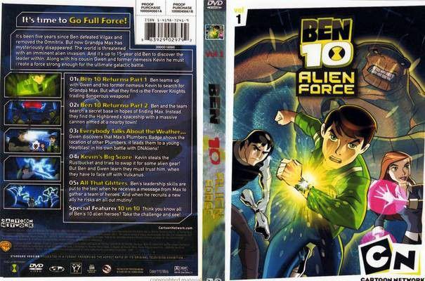 BEN 10 Ultimate Alien Season 1 Vol