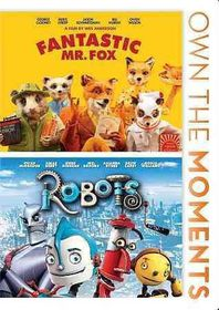 Fantastic Mr. Fox/Robots - (Region 1 Import DVD)