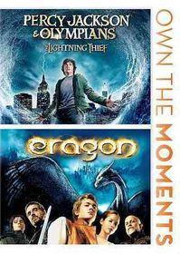 Percy Jackson & the Olympians/Eragon - (Region 1 Import DVD)