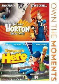 Horton Hears a Who/Everyone's Hero - (Region 1 Import DVD)