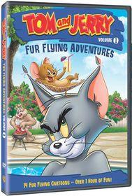 Tom & Jerry: Fur Flying Adventures- DVD