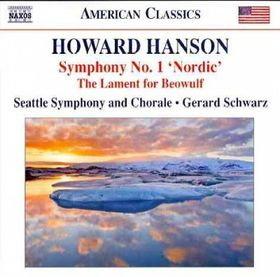 Hanson / Seattle Sym / Schwarz - Symphony 1 Nordic / Lament For Beowulf (CD)