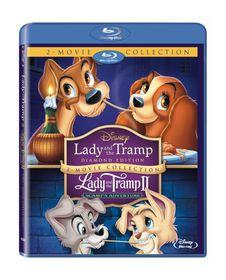 Lady and the Tramp 1 & 2 (Blu-ray Box Set)
