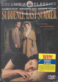 Suddenly Last Summer - (Region 1 Import DVD)