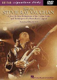 Stevie Ray Vaughan-Best of - (Import DVD)