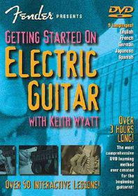 Getting Started on Electric Guitar - (Region 1 Import DVD)