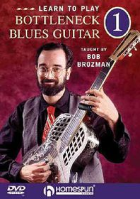 Bob Brozman - Blues Guitar Instruction DVD 1: Basics - (Region 1 Import DVD)