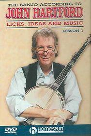 Banjo Lessons Vol 1-2 - (Region 1 Import DVD)