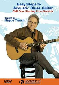 Easy Steps to Acoustic Blues Guitar - (Region 1 Import DVD)
