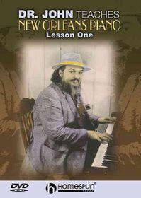 Dr John Teaches New Orleans Piano V1 - (Region 1 Import DVD)