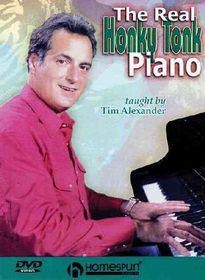 Real Honky Tonk Piano - (Region 1 Import DVD)