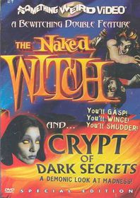 Naked Witch/Crypt of Dark Secrets - (Region 1 Import DVD)