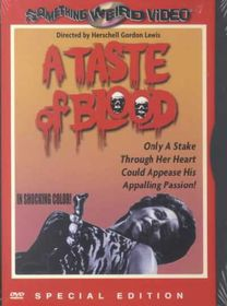 Taste of Blood - (Region 1 Import DVD)